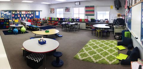 Flexible spaces shift responsibility to the students, improving their engagement.