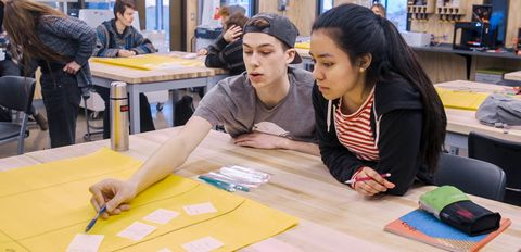 Hands-on STEM work