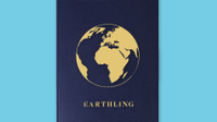 "Graphic of globe labeled ""Earthling."""