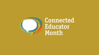 Connected Educator Month graphic