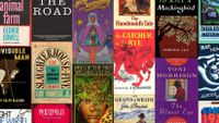 Image of the covers of the books in the list