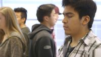 Students practicing mindfulness at Summit Preparatory Charter High School