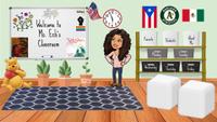 Nadia's bitmoji classroom