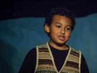 photo of a boy speaking