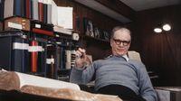 Portrait of B. F. Skinner at home