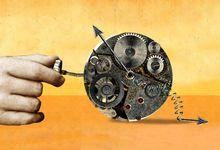An illustration of procrastination concept