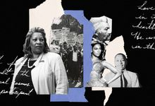 Photo collage concept for culturally responsible Black History Month education