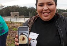 Group leader participating in Science Action Club with iNaturalist