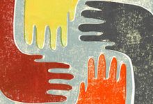 Illustration concept for bridging cultural divides through communication