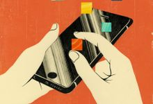 Illustration of technology apps