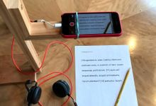 Author's learn at home setup