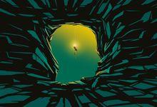 An illustration concept of psychological exploration
