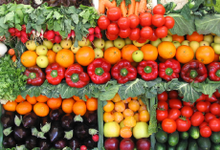 Photo of fruit and vegetable medley