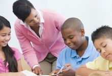 A teacher helps students consider the perspectives of others.