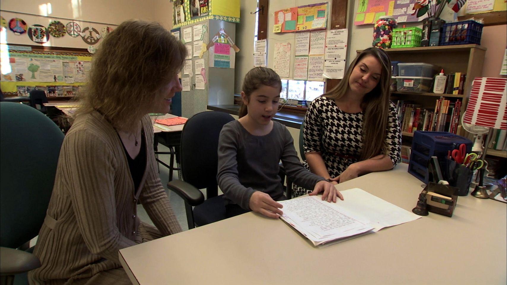Having Students Lead Parent Conferences