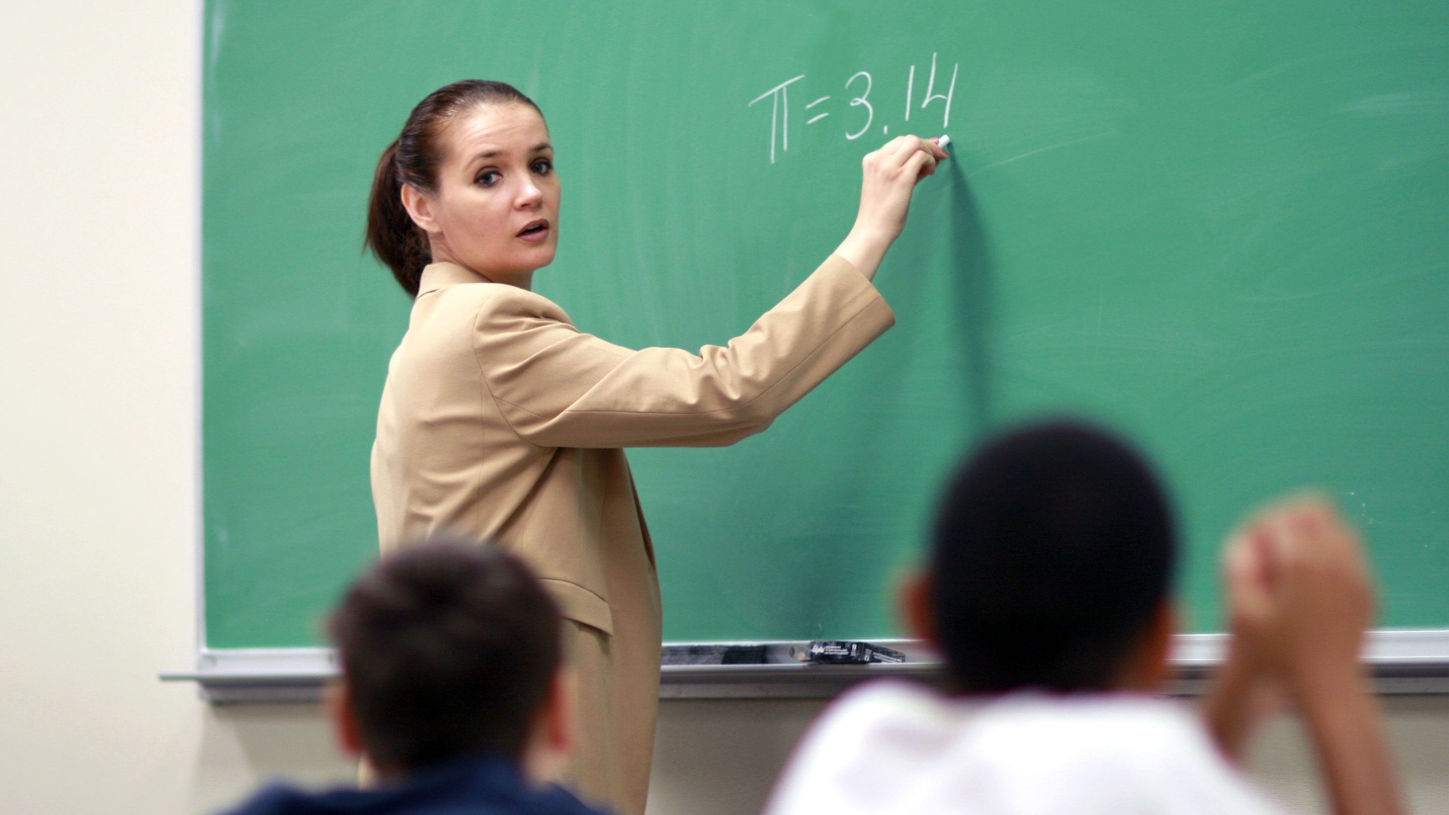 New Teachers: How to Develop 'The Look'