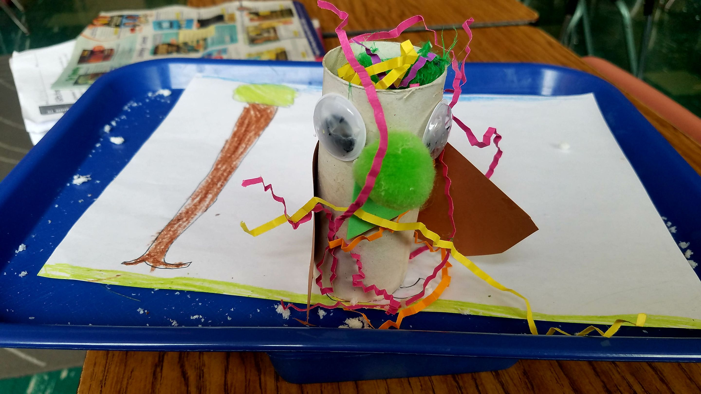 An animal invented by one of the author's third graders