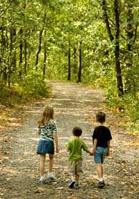 Forest Rangers: Every child should have a chance to walk in the woods.