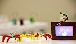 Bugs in the System:  Blinkybugs use simple materials to teach basic lessons in conductivity.