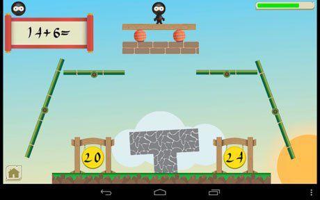 Image from Ninja Math app.