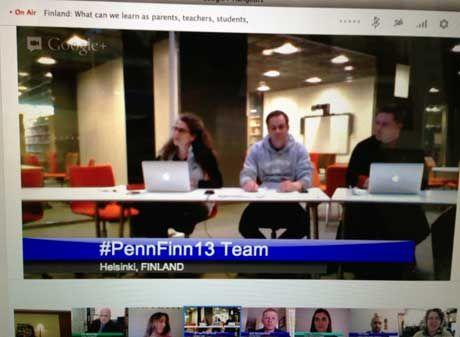 Edutopia Penn-Finn Google Hangout Panel from 3/25/13