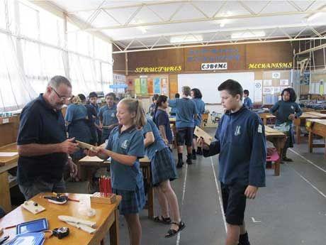 Do. Make. Create. Tech Class at Blockhouse Bay Intermediate School, New Zealand