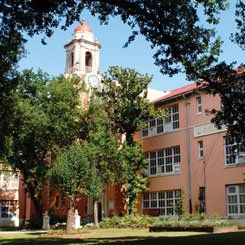 Spirit of a School: Behrman's beautiful Spanish Revival-style campus.
