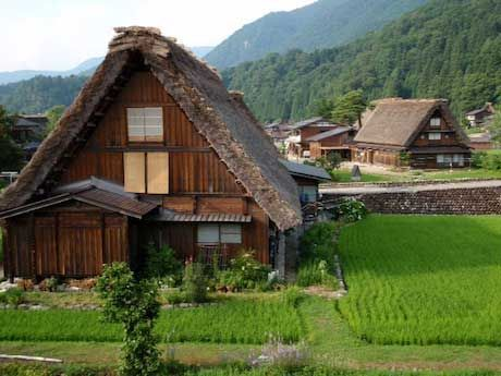 Mountain village in rural Japan. Credit: Suzanne Acord