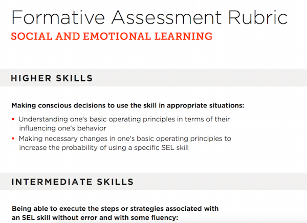Building Sel Skills Through Formative >> Building Sel Skills Through Formative Assessment Edutopia