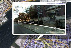 Eye in the Sky: Melissa Browning's students saw their school's Brooklyn neighborhood through Google Maps's street view.