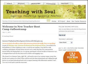 My blog at TeachingWithSoul.com