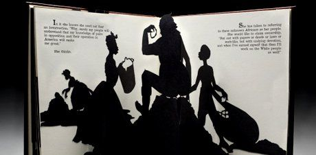 Caption: Kara Walker, Freedom, A Fable: A Curious Interpretation of the Wit of a Negress in Troubled Times, 1997 (Click image to enlarge)