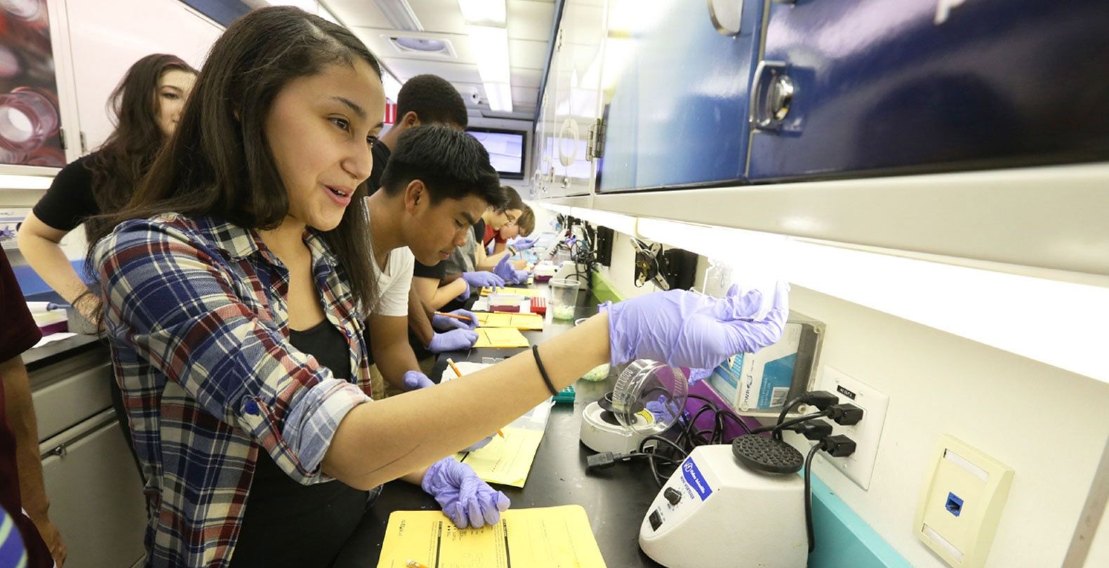 The MdBioLab has served over 150,000 high school students, in every district across Maryland.