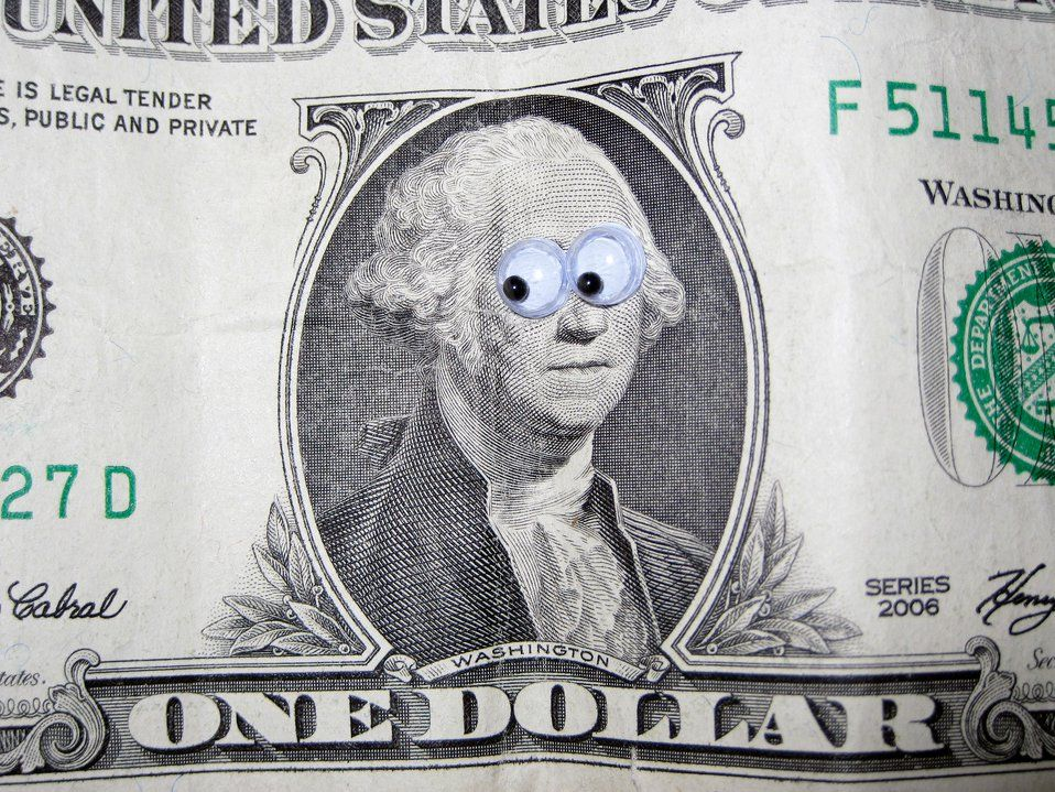 illustration of a dollar bill