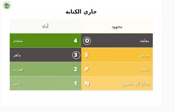 Spotlight's video report card translated into Arabic