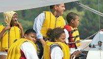 Sailing Along: The PASA sailing team competes in an annual regatta.