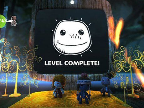 A frame from the video game LittleBigPlanet2.