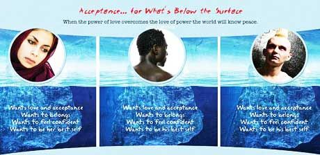 Acceptance . . . for What's Below the Surface. (Click to enlarge.)