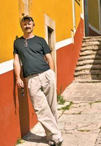 Writing Around the World:  Peter Lourie explored the world of the Aztecs in 2004.