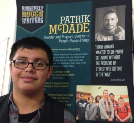 Julio Lopez Hernandez says the Freedom Fighter Project opened his world.