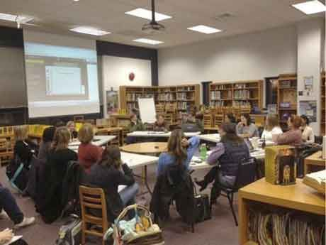 Knapp Elementary parent & staff meeting
