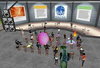 Avatar Announcements:  The New York City nonprofit organization Global Kids held a press conference in the virtual world of Teen Second Life to showcase student projects.