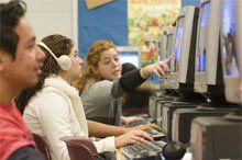 Screen Time: Individualized computer training in reading and language skills provides ongoing assessment.