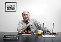 Comparing Apples and Oranges  David Berkowitz, executive director of SchoolFood