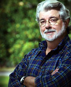 """George Lucas: """"When someone has an idea, you respect that idea and you learn in a respectful way to challenge that idea, without hurting their feelings, without calling them a lot of names, without punching them in the face."""""""
