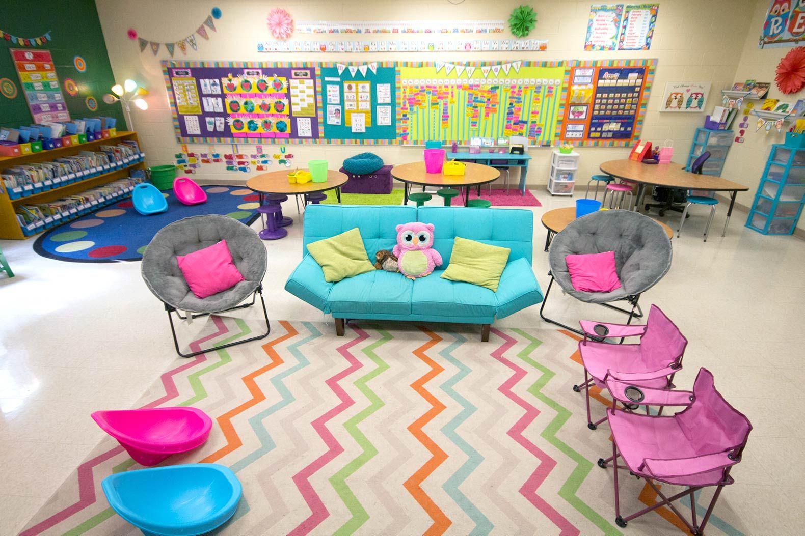 Classroom Ideas K 3 ~ Outstanding k flexible classrooms edutopia