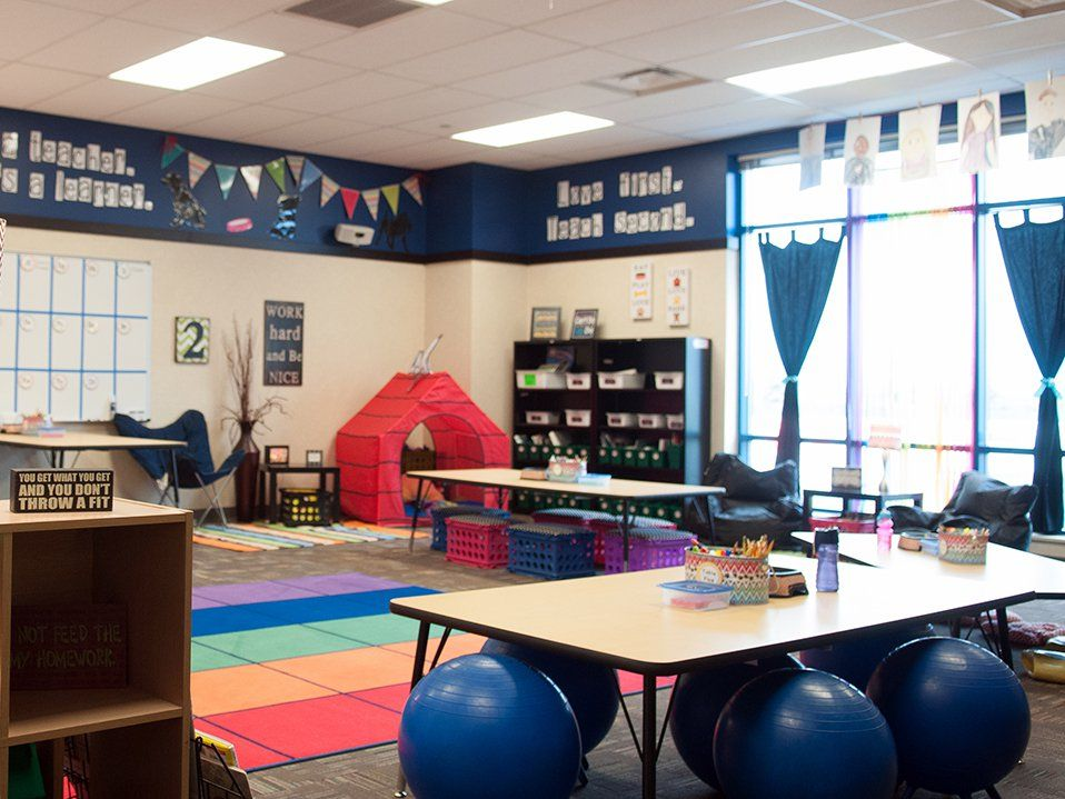 Classroom Redesign ~ Flexible seating and student centered classroom redesign