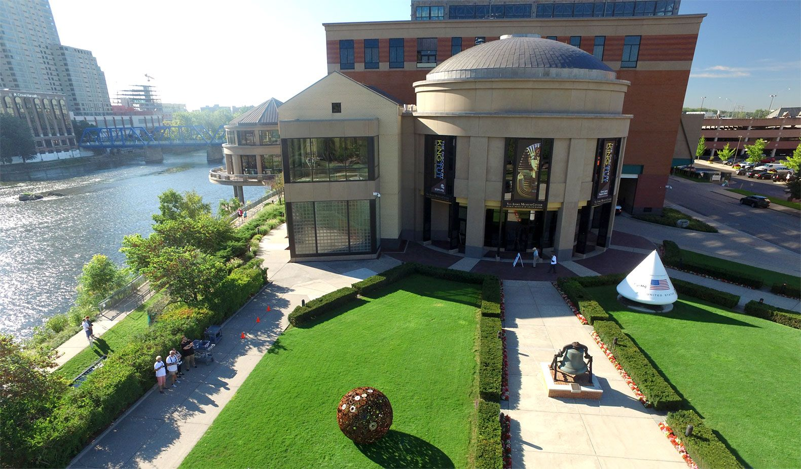 The Grand Rapids Public Museum, which opened in 1854, features exhibits on topics that range from King Tut to robots.