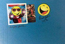 A sample student folder.