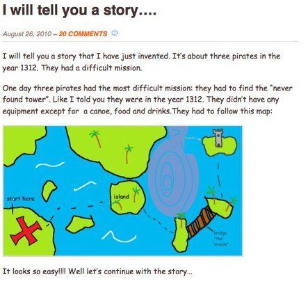 Student Story Blog